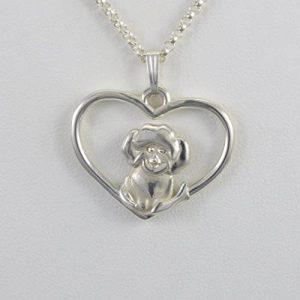 bichon frise necklace