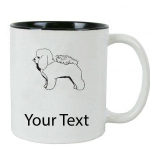 personalized bichon mug