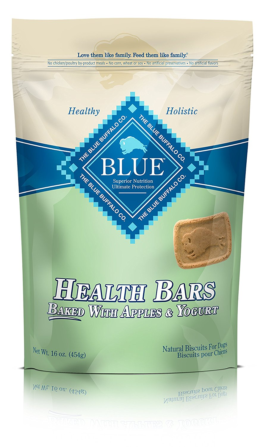 Apple Yogurt Dog Health Bars