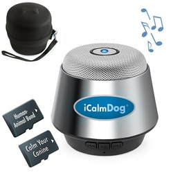 iCalmDog provides music for dogs