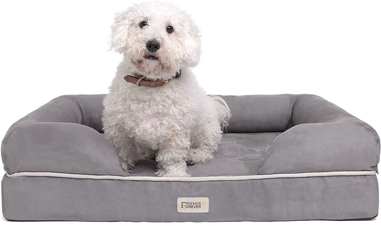 Dog arthritis products include a good orthopedic bed.