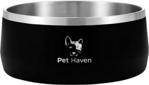 Pet Haven dog bowl to keep water cool for a dog